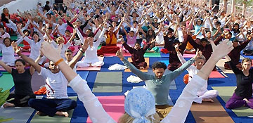 nternational Yoga Festival in Rishikesh