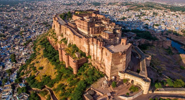 Mehrangarh Fort, Jodhpur – One of the largest fort in India