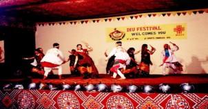 Folk dance festiva