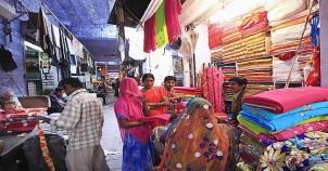Diu clothes bazaars