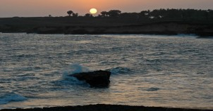 Nagoa beach diu sunset