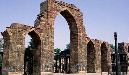 Ruined arches qutab minar