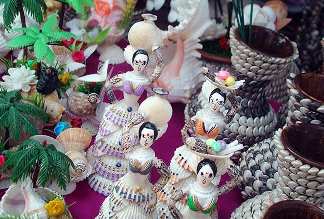 Seashell craft