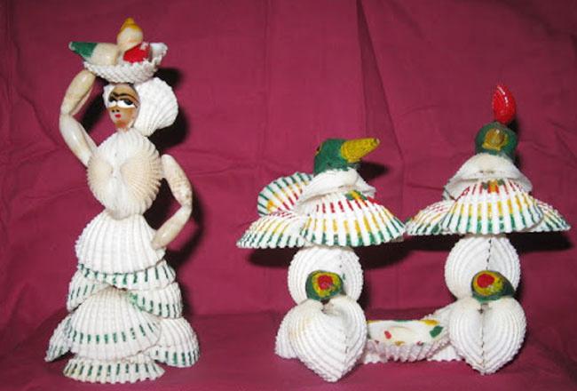 Shell craft work