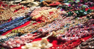 Shell work jewellery