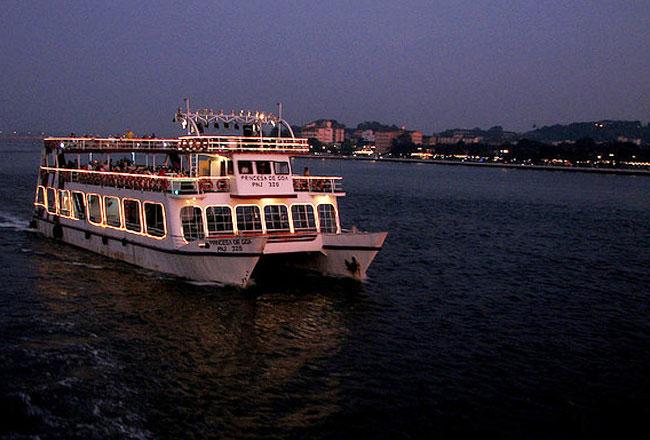 River cruising in goa
