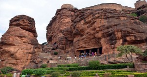 Cave one of cave temples badami