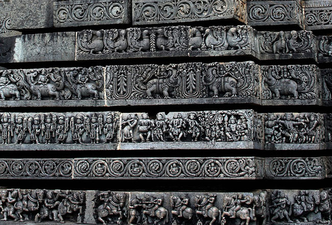 Channakeshava temple belur art