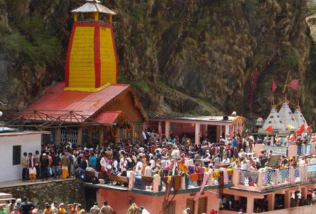 Yamunotri temple darshan