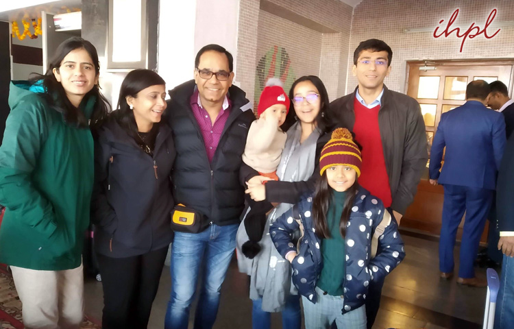 Mr. Angraj Killon & Family