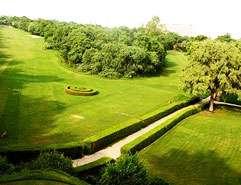 Golfing in Delhi