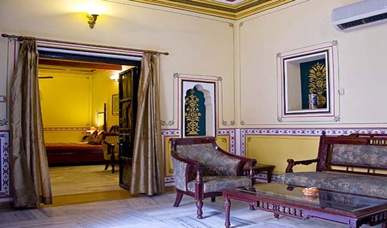 guest room3 in Chokhi Dhani Hotel, Jaipur