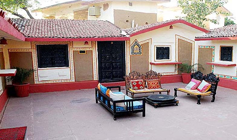 guest room2 in Chokhi Dhani Hotel, Jaipur