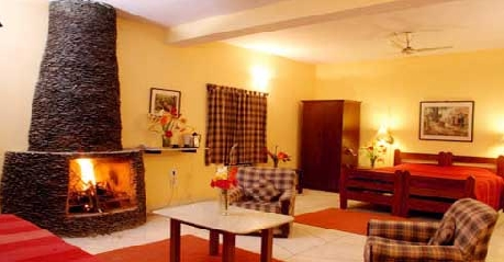 Deluxe Room in Corbett Riverside Resort