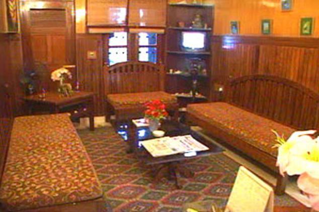guest room in Corbett Treff Hotel