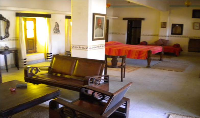 guest room in Hotel Devi Bhawan