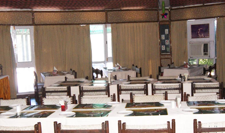 Dining in Hotel Bharatpur Ashok