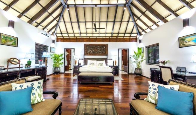 Bedroom in Carnoustie Ayurveda Wellness