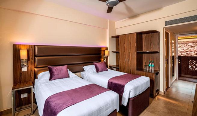double-room in Caspia Hotels, Arpora, North Goa