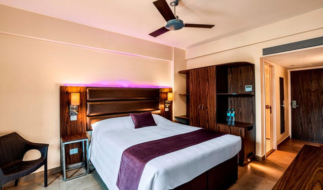 room in Caspia Hotels, Arpora, North Goa