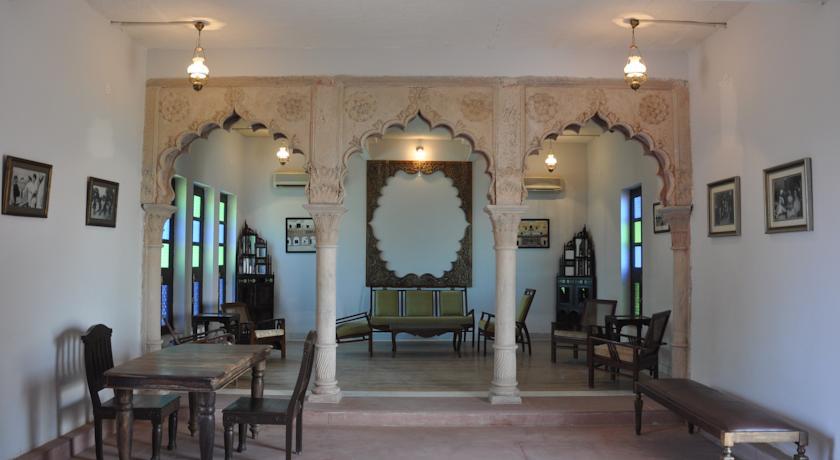 guest room in Chandra Mahal Haveli