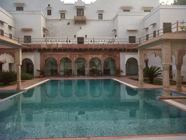 Swimmeng2 in Chandra Mahal Haveli