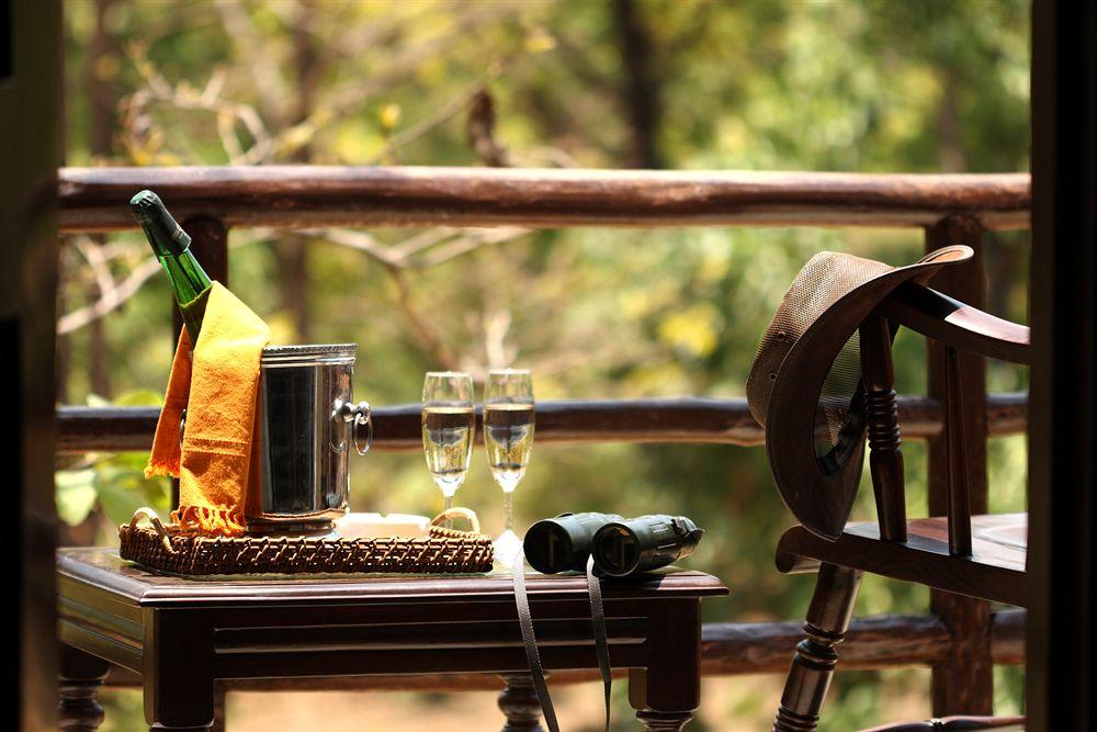 Bar Dining in Chitvan Jungle Lodge, Kanha