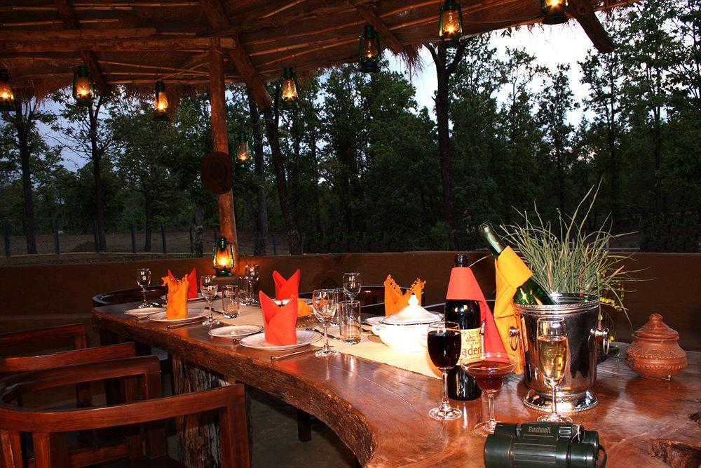 Bar Dining2 in Chitvan Jungle Lodge, Kanha