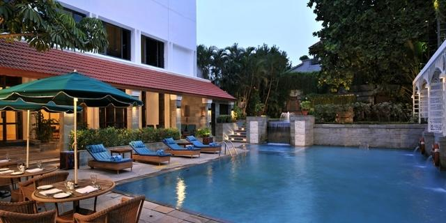 Swimming Pool in My Fortune Chennai