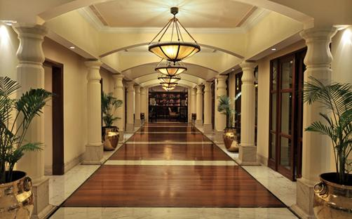 Corridor in My Fortune Chennai