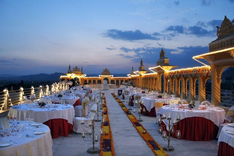 Dining in Chunda Palace Udaipur