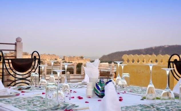 Dining2 in Chunda Palace Udaipur