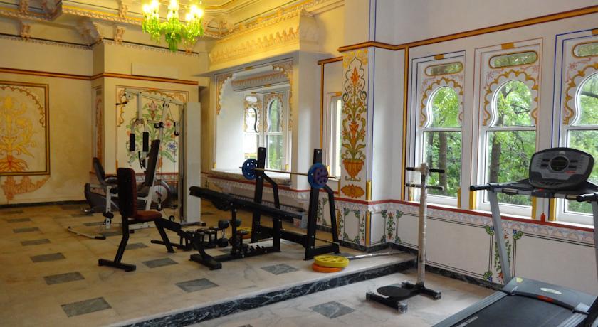 Gym in Chunda Palace Udaipur