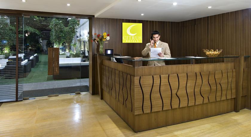 Reception in Citrus Hotel