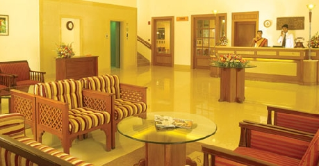 Reception in Cloud 9 Resort, Munnar