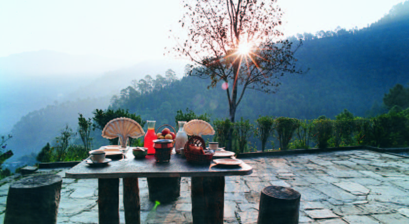 Dining in Club Mahindra Resort Binsar