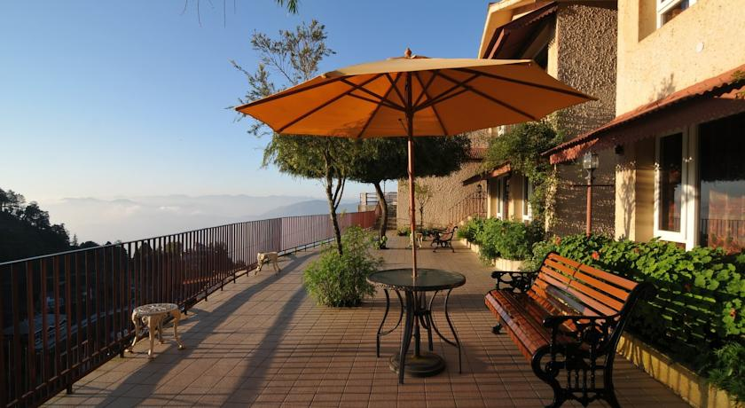 Balcony in Club Mahindra Resort Mussoorie