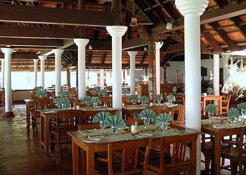 Dining in Coconut Lagoon In Kumarakom