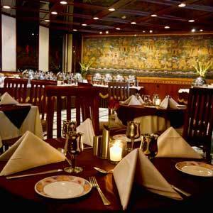Dining in The Connaught Hotel New Delhi