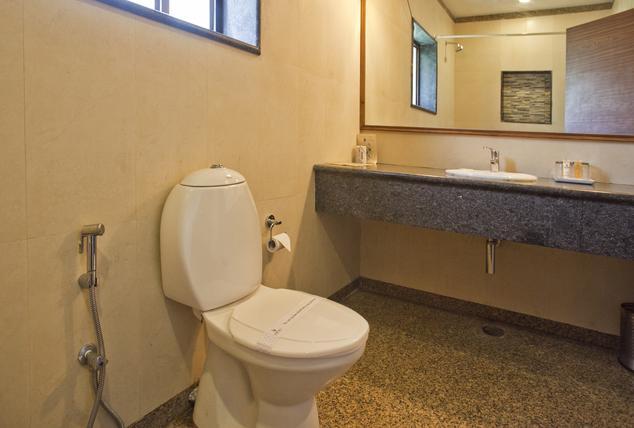 Bathroom in Corbett Riverview Retreat