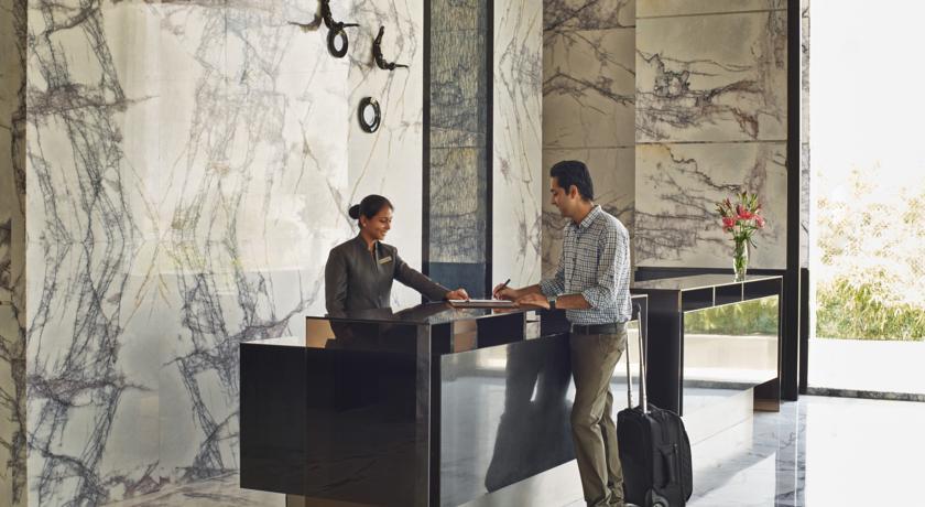 Reception in Courtyard By Marriott Bilaspur