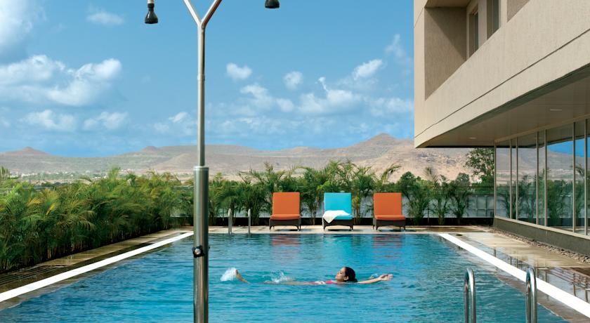Swimming Pool in Courtyard By Marriott Hinjewadi