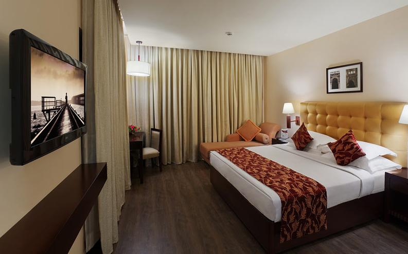 Deluxe Room in Daiwik Hotel Rameswaram