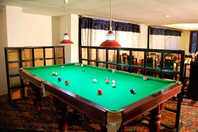 Pool Table in Hotel De Vivendi Resorts