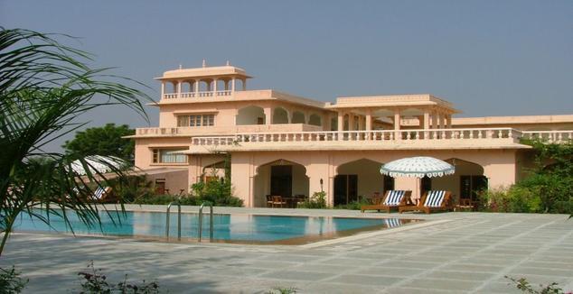 Dev Vilas Resort Swimming