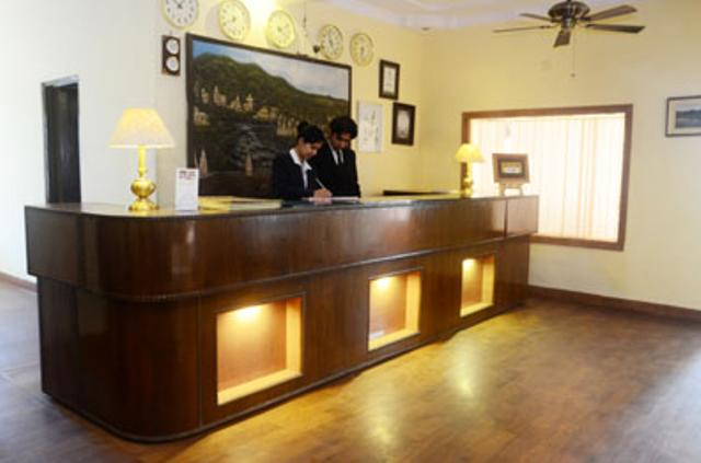 Reception in Hotel Divine Resort, Rishikesh