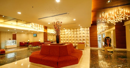 Hotel Reception in Dolphin Hotel Visakhapatnam