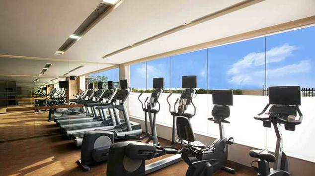Gym in Double Tree By Hilton