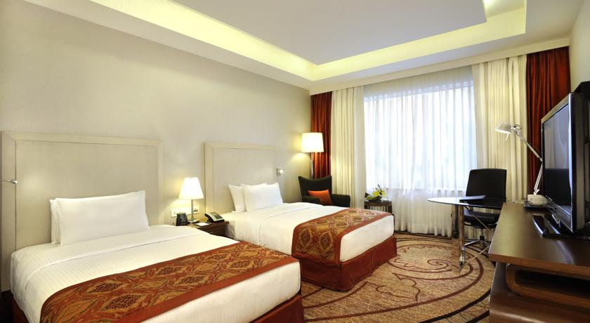2 Double Bed Guest Rooms in Double Tree By Hilton Hotel Gurgaon
