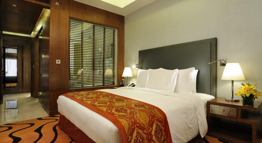King Bed Guest Room in Double Tree By Hilton Hotel Gurgaon